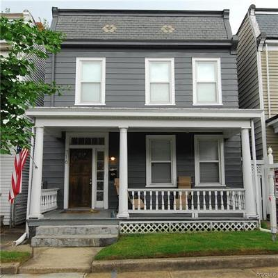 Richmond Single Family Home For Sale: 716 North 33rd Street