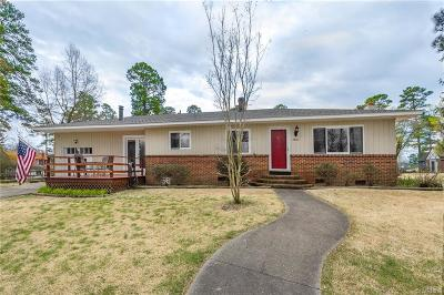 Hopewell Single Family Home For Sale: 2802 Princess Anne Street