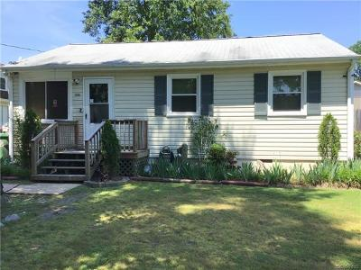 Hopewell Single Family Home For Sale: 3807 Courthouse Road