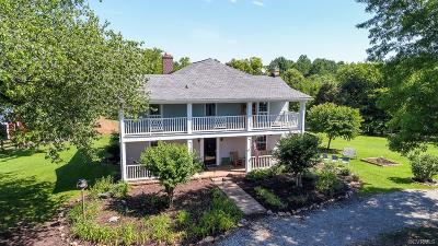 Powhatan Single Family Home For Sale: 2850 Red Lane Road