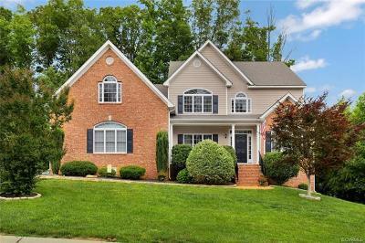 Midlothian Single Family Home For Sale: 12314 Bailey Oak Place