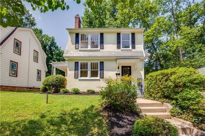 Richmond Single Family Home For Sale: 828 West 29th Street