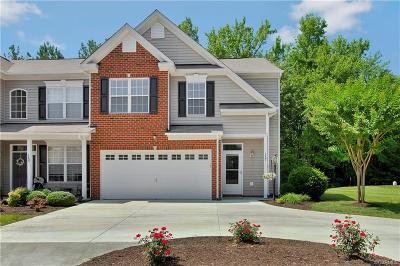Midlothian Condo/Townhouse For Sale: 1737 Rose Mill Circle #A