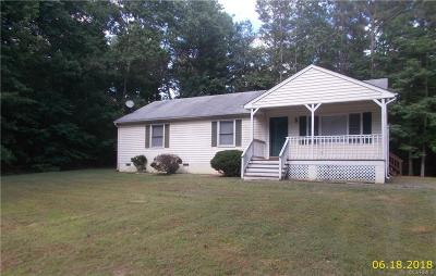 Charles City Single Family Home For Sale: 5800 Collins Run