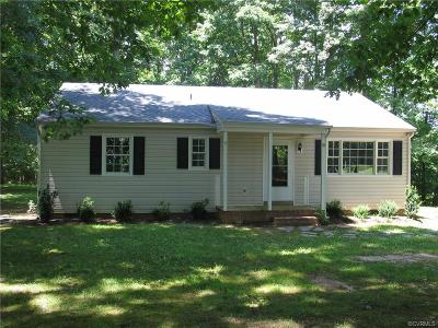 Powhatan Single Family Home For Sale: 991 Clayton Road