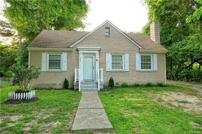 Richmond Single Family Home For Sale: 3020 Montecrest Avenue