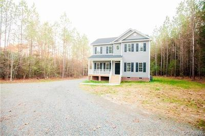 New Kent Single Family Home For Sale: 8615 Rock Cedar Road