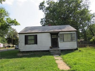 Richmond Single Family Home For Sale: 4601 Cooks Road