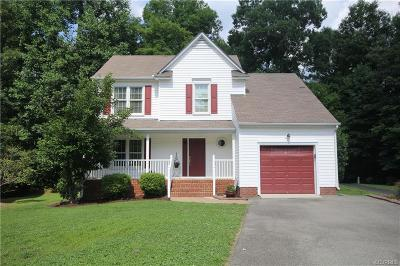 Midlothian Single Family Home For Sale: 15000 Hickory Grove Place