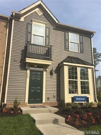 Henrico Condo/Townhouse For Sale: 4319 Cottage Rose Lane #T-D