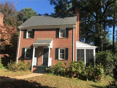Richmond Single Family Home For Sale: 4209 Hillcrest Road