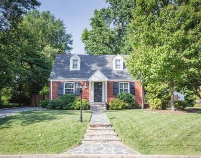 Henrico Single Family Home For Sale: 6528 West Franklin Street