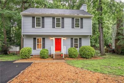 Midlothian Single Family Home For Sale: 6110 Duck Cove Road