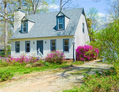 Midlothian Single Family Home For Sale: 2819 Iverson Road