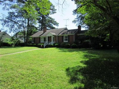 Richmond Single Family Home For Sale: 1403 Dinwiddie Avenue