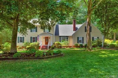Midlothian Single Family Home For Sale: 13803 Sunrise Bluff Road