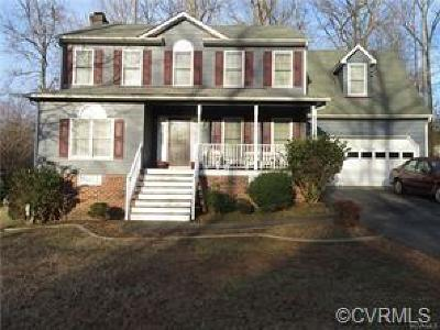 Chesterfield Single Family Home For Sale: 13701 Laurel Spring Road