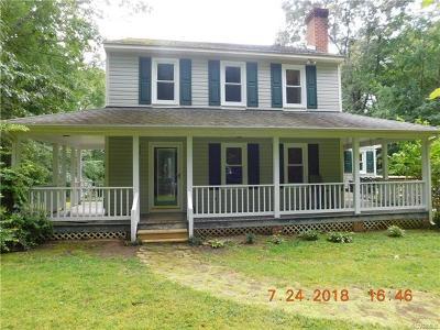 Powhatan County Single Family Home For Sale: 4331 Three Bridge