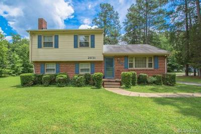 Chesterfield VA Single Family Home For Sale: $230,000