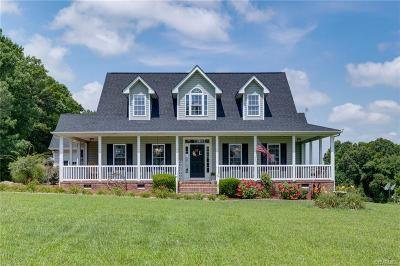 Nottoway County Single Family Home For Sale: 3198 South Genito Road