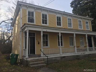 Petersburg Multi Family Home For Sale: 814 West High Street