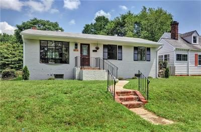 Richmond Single Family Home For Sale: 615 North 38th Street