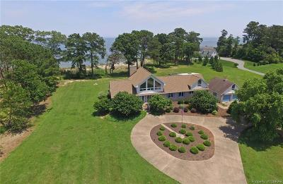 Heathsville Single Family Home For Sale: 2249 Lighthouse View Road