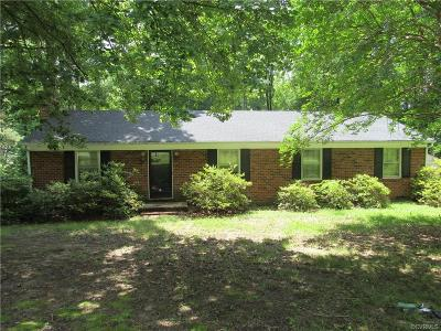 Richmond Single Family Home For Sale: 1301 Wilkinson Road