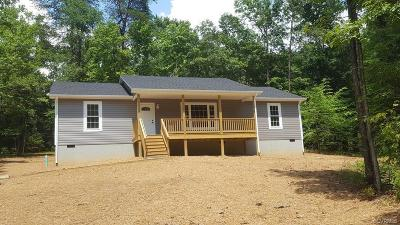 Farmville Single Family Home For Sale: Jesse's Way