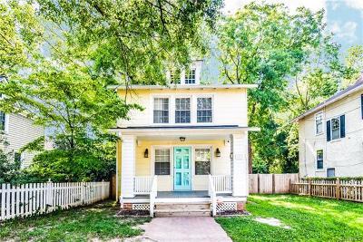 Richmond Single Family Home For Sale: 113 Libbie Ave.
