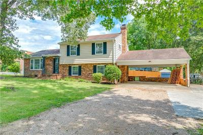 Midlothian Single Family Home For Sale: 10801 West Huguenot Road