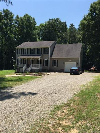 Chesterfield VA Single Family Home For Sale: $266,500