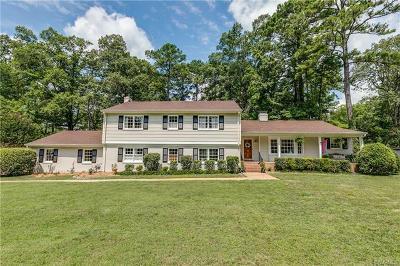 Henrico Single Family Home For Sale: 210 Sleepy Hollow Road