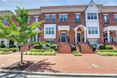 Richmond Condo/Townhouse For Sale: 1725 West Cary Street #1725