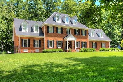 Hanover County Single Family Home For Sale: 11312 River Land