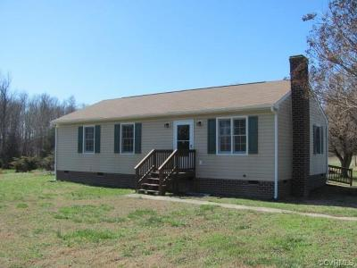 King William Single Family Home For Sale: 3719 East River Road