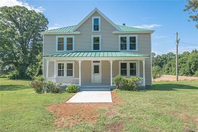 Amelia County Single Family Home For Sale: 12211 Genito Road