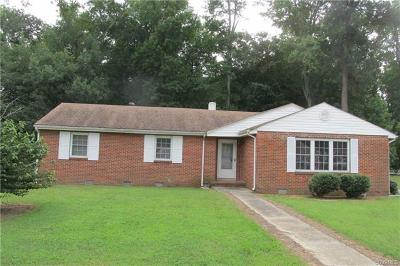 Hopewell Single Family Home For Sale: 3706 Woodside Court