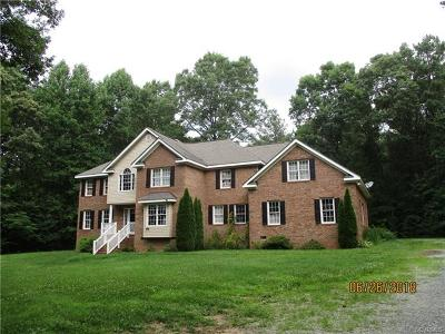 Powhatan County Single Family Home For Sale: 3990 Three Bridge Road