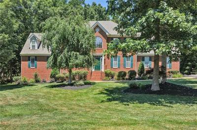 Chester Single Family Home For Sale: 13412 Mountcastle Road