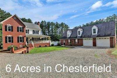 Chesterfield County Single Family Home For Sale: 17420 River Road