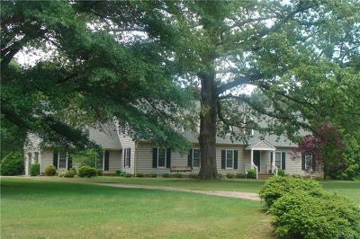 Hanover Single Family Home For Sale: 11342 Cloverhill Drive