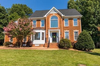 Hanover County Single Family Home For Sale: 9286 Crossover Drive