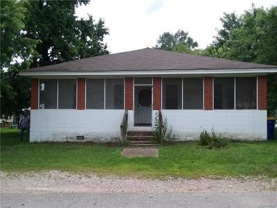 Hopewell Single Family Home For Sale: 400 South 19th Avenue
