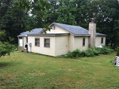 Powhatan County Single Family Home For Sale: 2549 Red Lane Road