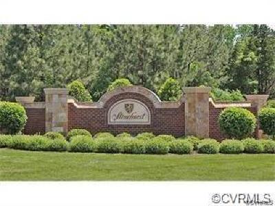 Henrico County Residential Lots & Land For Sale: 5729 Stonehurst Estates Terrace
