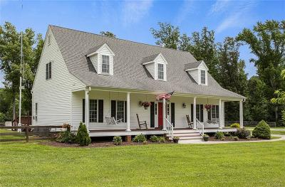 Single Family Home Sold: 19615 King William Road