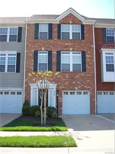 Hanover County Condo/Townhouse For Sale: 8111 Belton Circle #8111