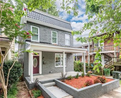 Richmond Single Family Home For Sale: 3108 Parkwood Avenue