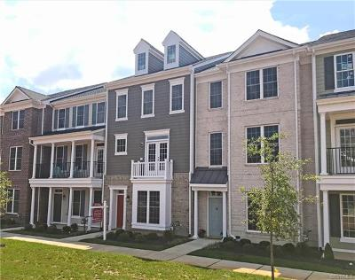 Midlothian Condo/Townhouse For Sale: 14215 Michaux Village Drive #4
